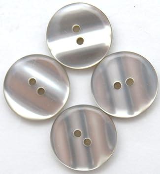 Colore: Grigio Taglia 32 in Materiale Sintetico Confezione da 30 Pezzi LEDUC Bottoni Colore: Lino