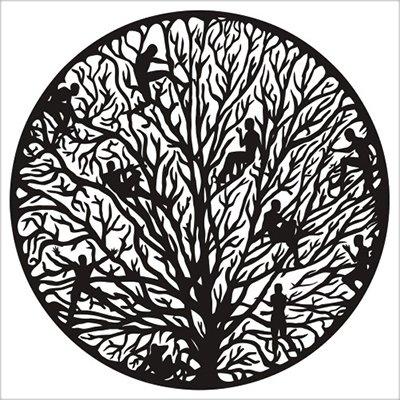 Tree of Life Design Vinyl Sticker - Car Window Bumper Laptop - SELECT SIZE