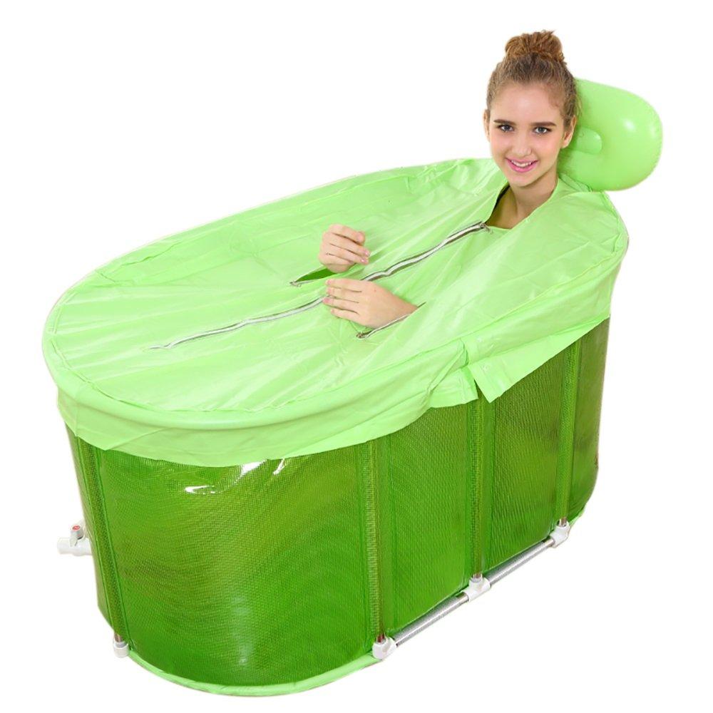 PM YuGang Stainless Steel Bracket Baby Swimming Pool Adult Bathtub(1106060cm)
