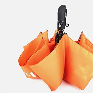 WX Paraguas Plegable Automático Paraguas Personalizado 8K Repelente de Agua Paraguas de Cierre Automático una Llave