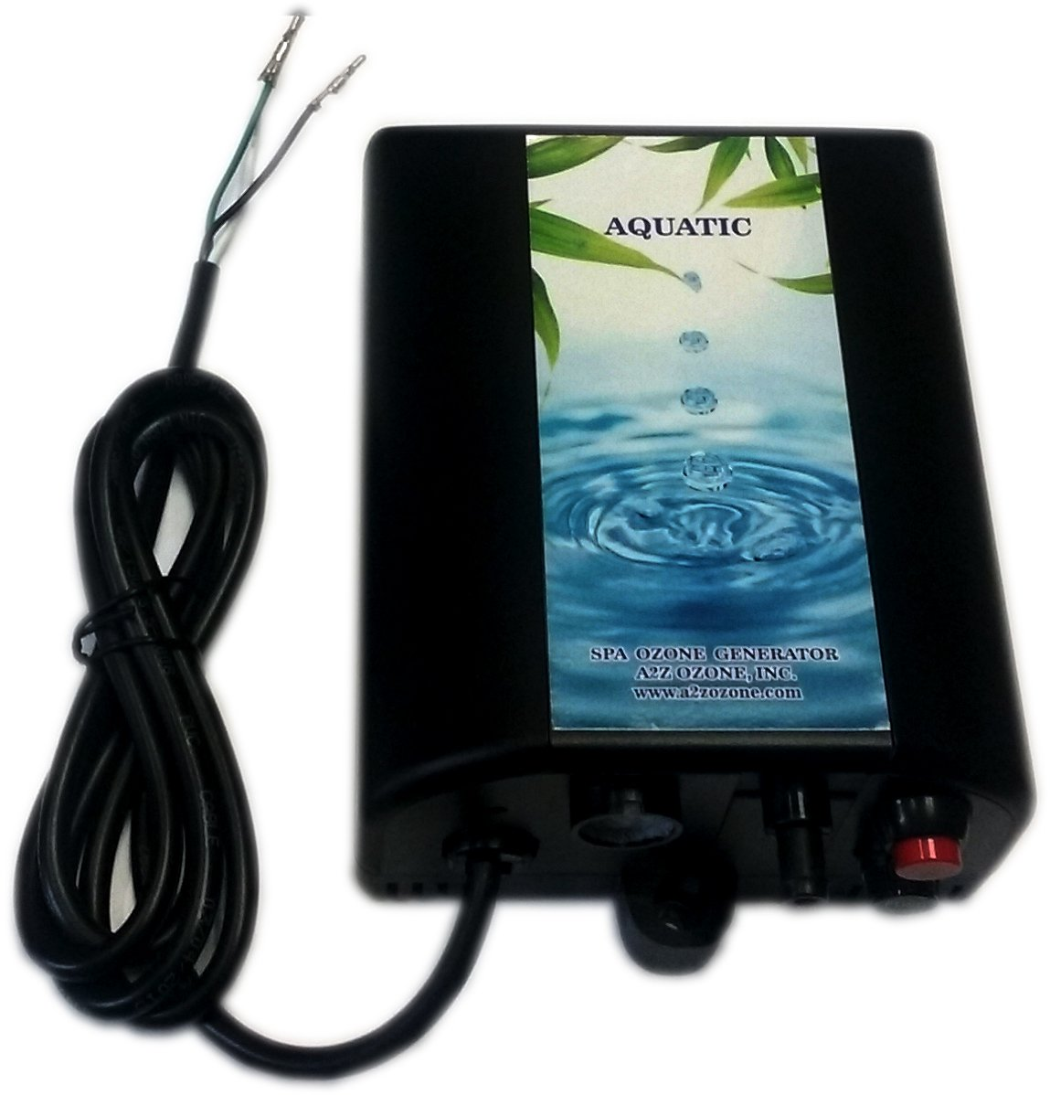 A2Z Ozone Aquatic Spa & Hot Tub Ozone Generator | Maintenance Free | Chemical Free | Up to 1,500 Gallons by A2Z Ozone