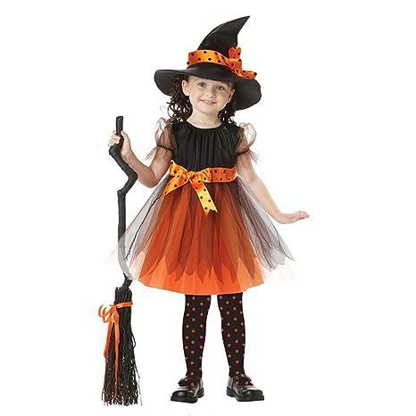 Vestiti Halloween Strega.Costume Da Strega Vestiti Halloween Bambina Costume Halloween