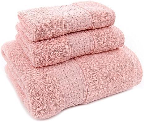 KingNew - Juego de toallas de baño de algodón, supersuave ...