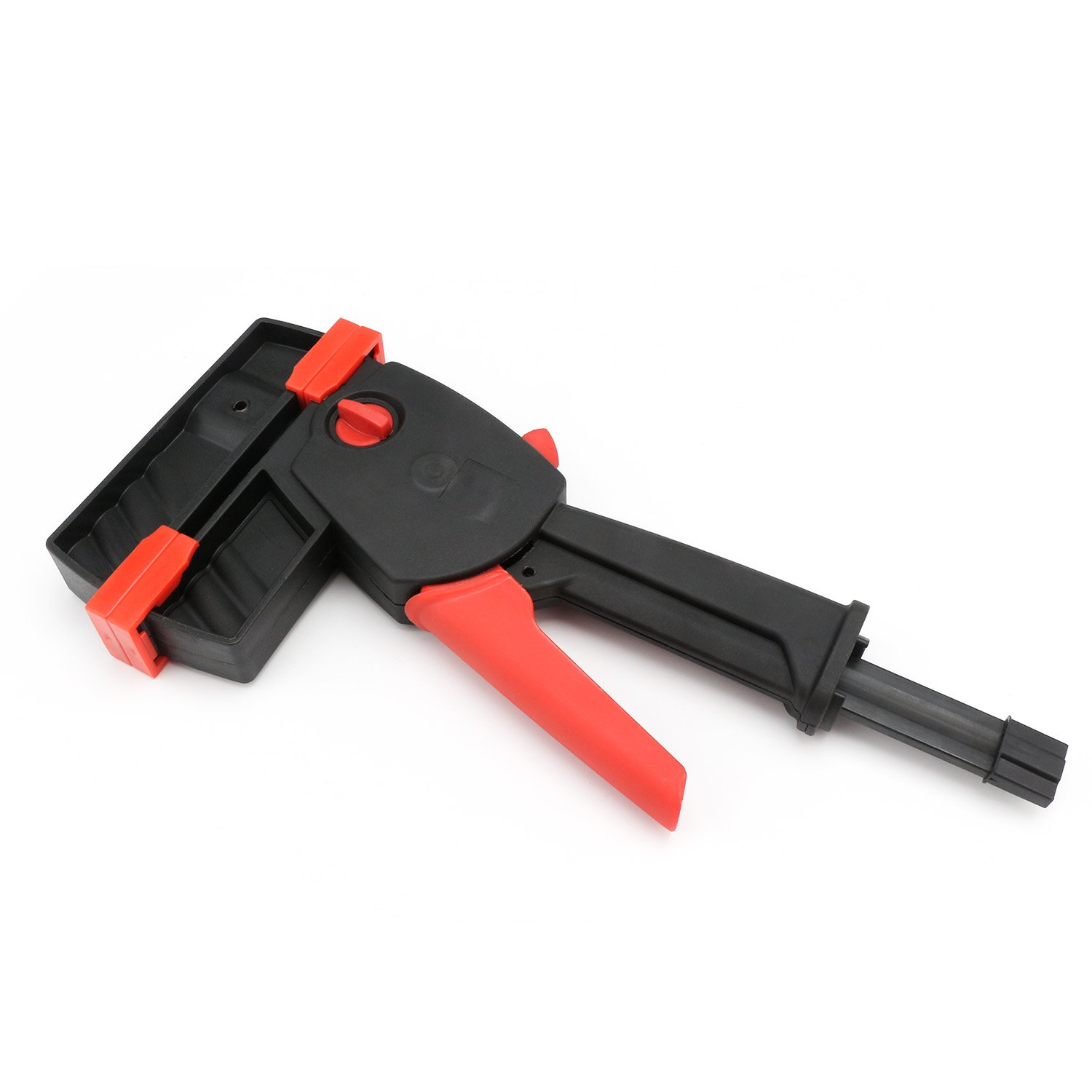 Bar Clamps: EnPoint™ Quick Grip Clamps Wood Clamps One-handed F-Clamps Bar Clamp Spreader 12.6IN 32CM Heavy Duty Clamps Perfect for Woodworking Chair Table Cabinet Gluing Assembly Work by EnPoint (Image #1)
