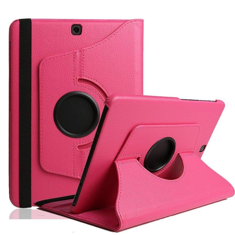 Jennyfly T720/T725 Case for New 2019 Galaxy Tab S5e 10.5, 360 Degree Rotating Stand Protective Cover Multiple Viewing Angles Slim Case for Samsung 2019 Galaxy Tab S5e 10.5(SM-T720/T725) - Rose Pink by Jennyfly