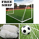 10X6.5Ft Full Size Football Soccer Goal Post Net Sports Match Training Junior Pe