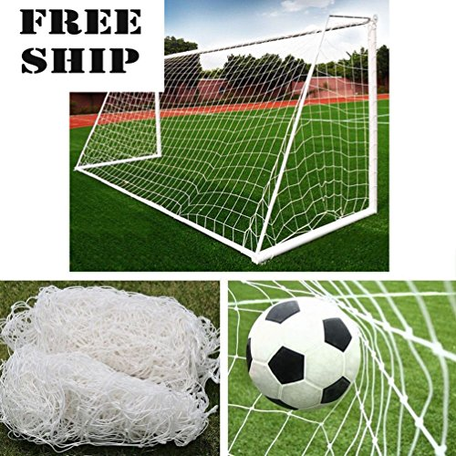 10X6.5Ft Full Size Football Soccer Goal Post Net Sports Match Training Junior Pe by General