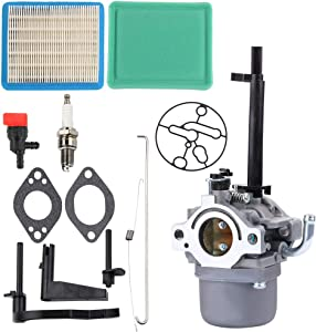 Mannial 591378 Carburetor with 491588s Air Filter fit for 697978 796321 696132 696133 796322 697351 699958 699966 698455 695918 694952 796323 695920 695328
