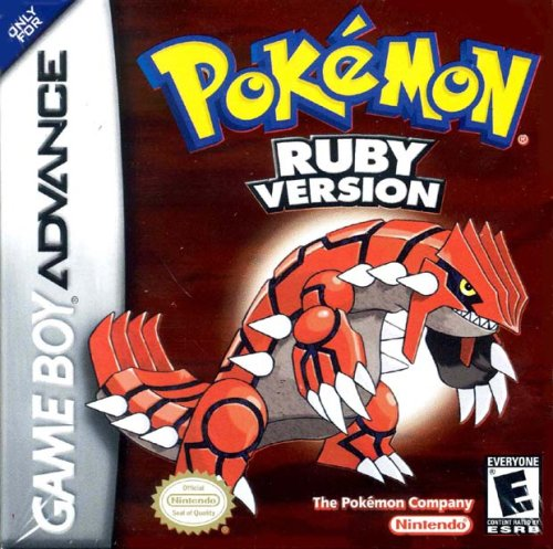 Pokemon Ruby Version - Game Boy Advance (Gameboy Advance Sp Play Gameboy Color Games)