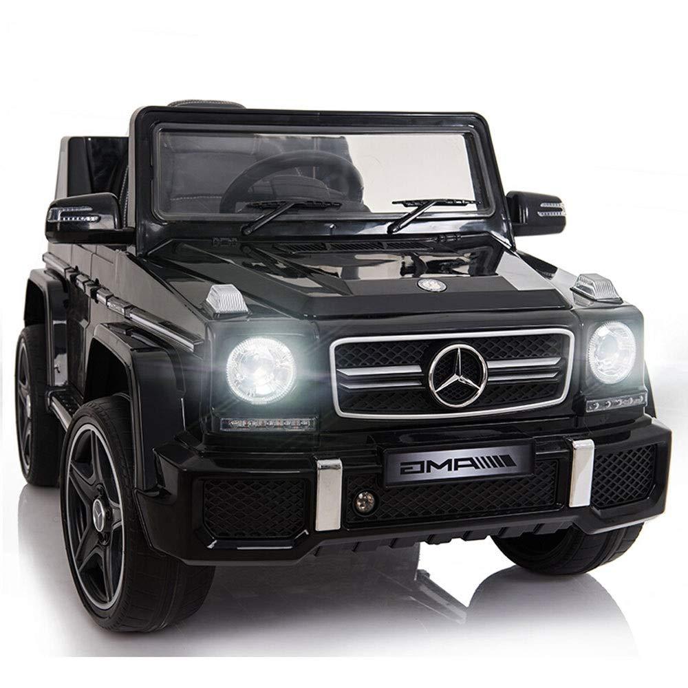 Ycco Mercyedes Betnz Kids Ride On Car 6V Elektrisches Kinderspielzeug Mit Fernbedienung MP3   Display Zugelassenes Mercedes-Benz Kinder-Elektrofahrzeug Vierrädrige können mit Fernbedienung ferngesteue schwarz