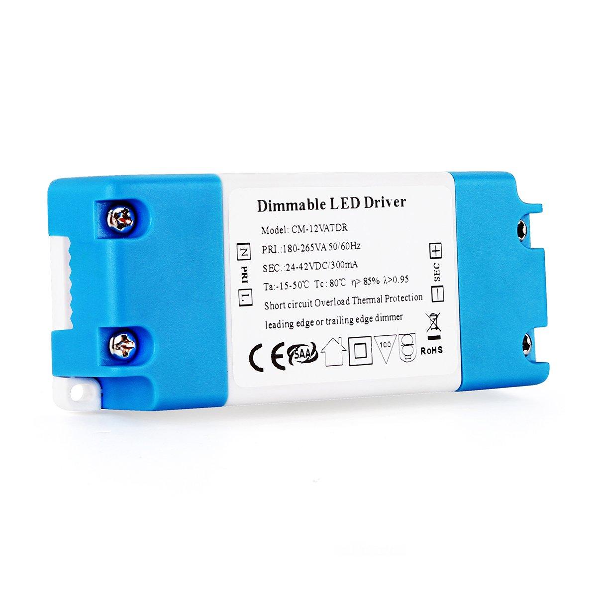 Vipmoon 5 7w Dc Dimmable Led Driver For Bulbs Ceiling Light Circuit Lighting