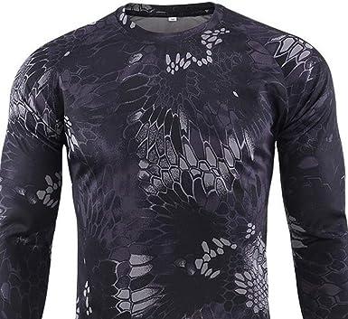 Heetey Camisa Top para Hombres al Aire Libre de Secado ...