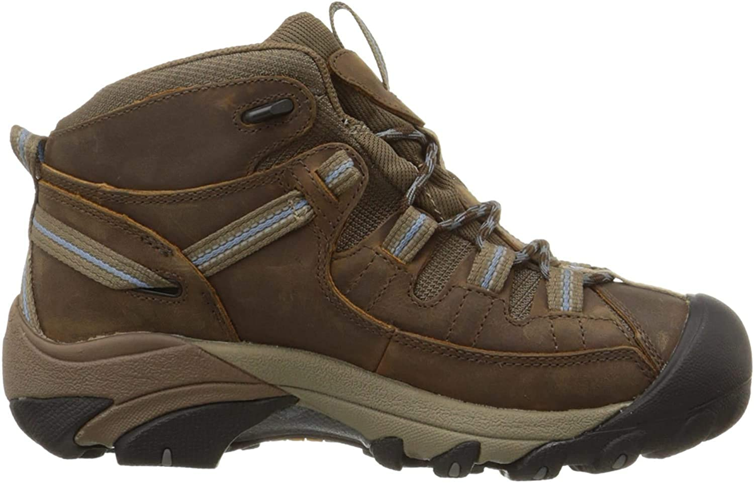 Donner Mountain Erik Mens Hiking Boots, Insulated Traction Ankle Waterproof Boots for Men
