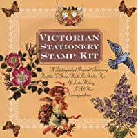 Victorian Stationery Stamp Kit: A Distinguished Personal Stationery Portfolio to Bring Back the Golden Age of Le tter Writing to All Your Correspondence