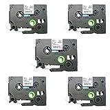 Brodex Compatible TZ231 TZe231 TZ-231 Label Tape