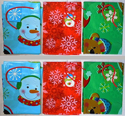Set of 6 Gift Bags Jumbo/Giant/XLarge 36