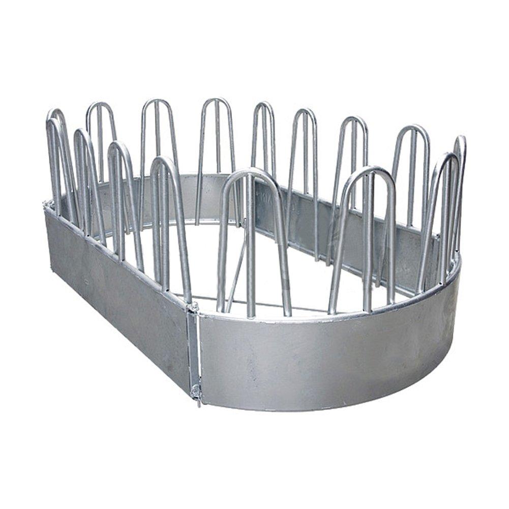 Alimentatore ovale, 16 spazi per mangimi, 3,45 x 1,90 m, con diagonali - 303540