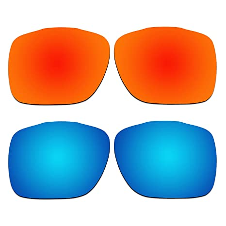 152e5327b3 Image Unavailable. Image not available for. Color  ACOMPATIBLE 2 Pair Replacement  Polarized Lenses for Oakley TwoFace XL Sunglasses OO9350 ...