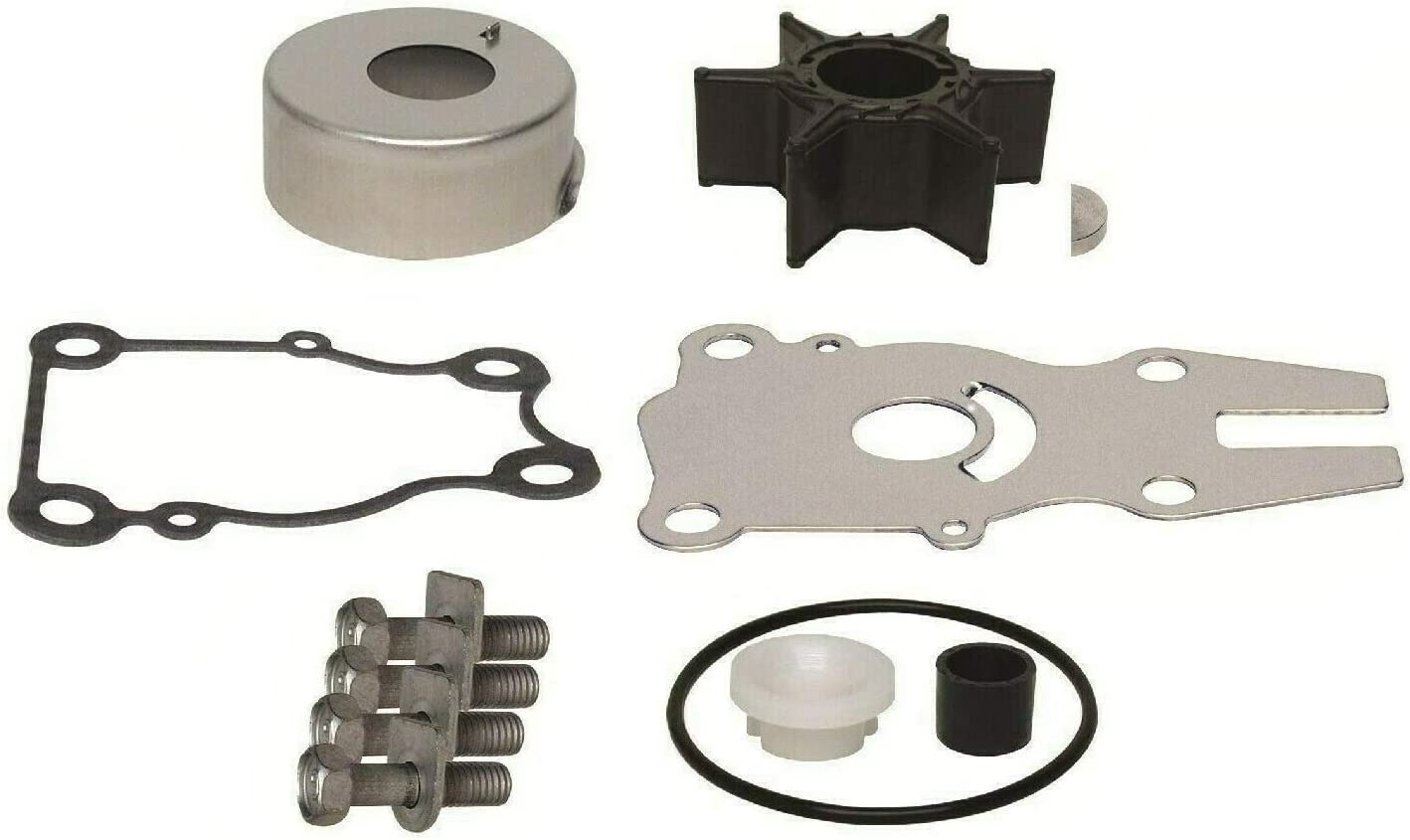 Water Pump Impeller Replacement Kit for Yamaha 63D-W0078-01-00 18-3434