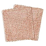 REDECKER Copper Cleaning Cloth, Set of 2, Durable
