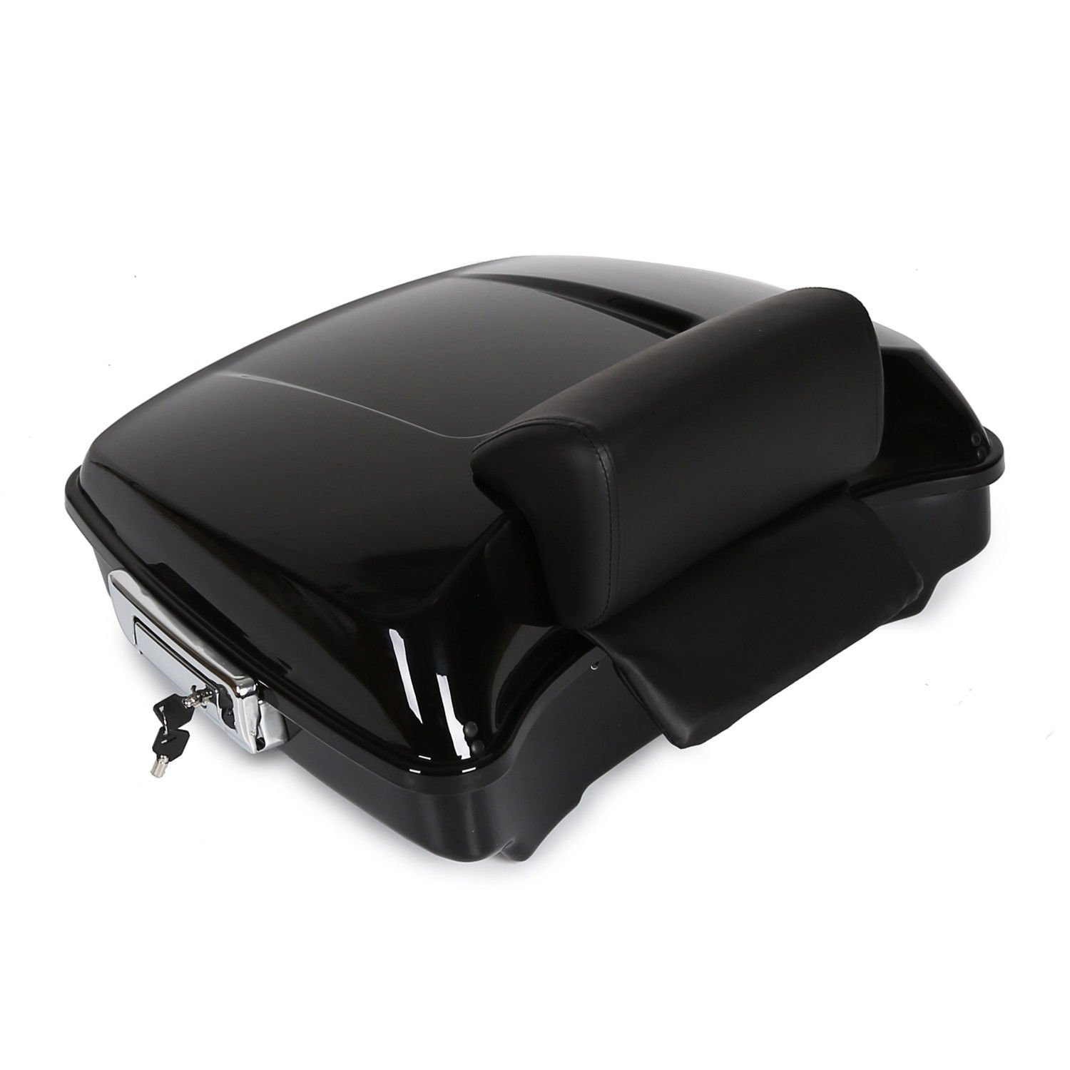 Razor Tour Pack Touring Pak Trunk Tail Box For Harley Touring Models 14-UP