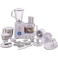 Bajaj MasterChef 3.0 600-Watt Food Processor with 3 Jars (White)