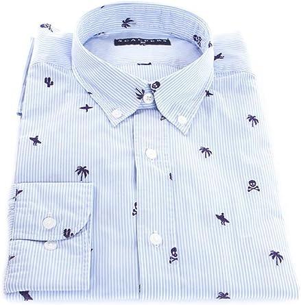 Scalpers Surfer Shirt Camisa, Stripes, 44 para Hombre: Amazon.es: Ropa y accesorios