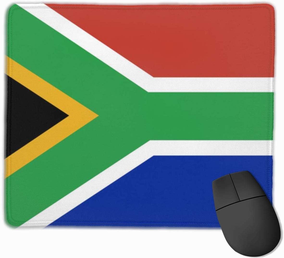 Alfombrilla para el Mouse Bandera de Sudáfrica Base de Goma ...
