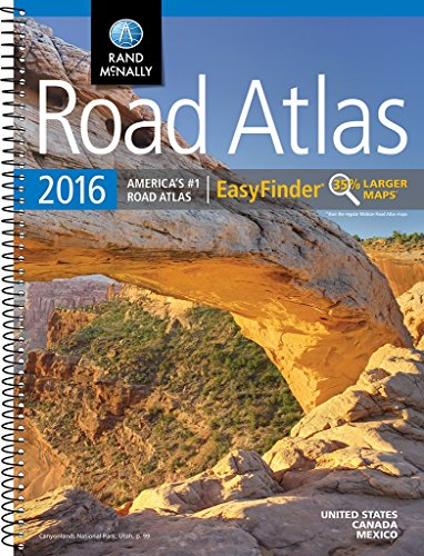 (Rand McNally 2016 EasyFinder® Midsize Road Atlas (Rand Mcnally Road Atlas Midsize Easy)