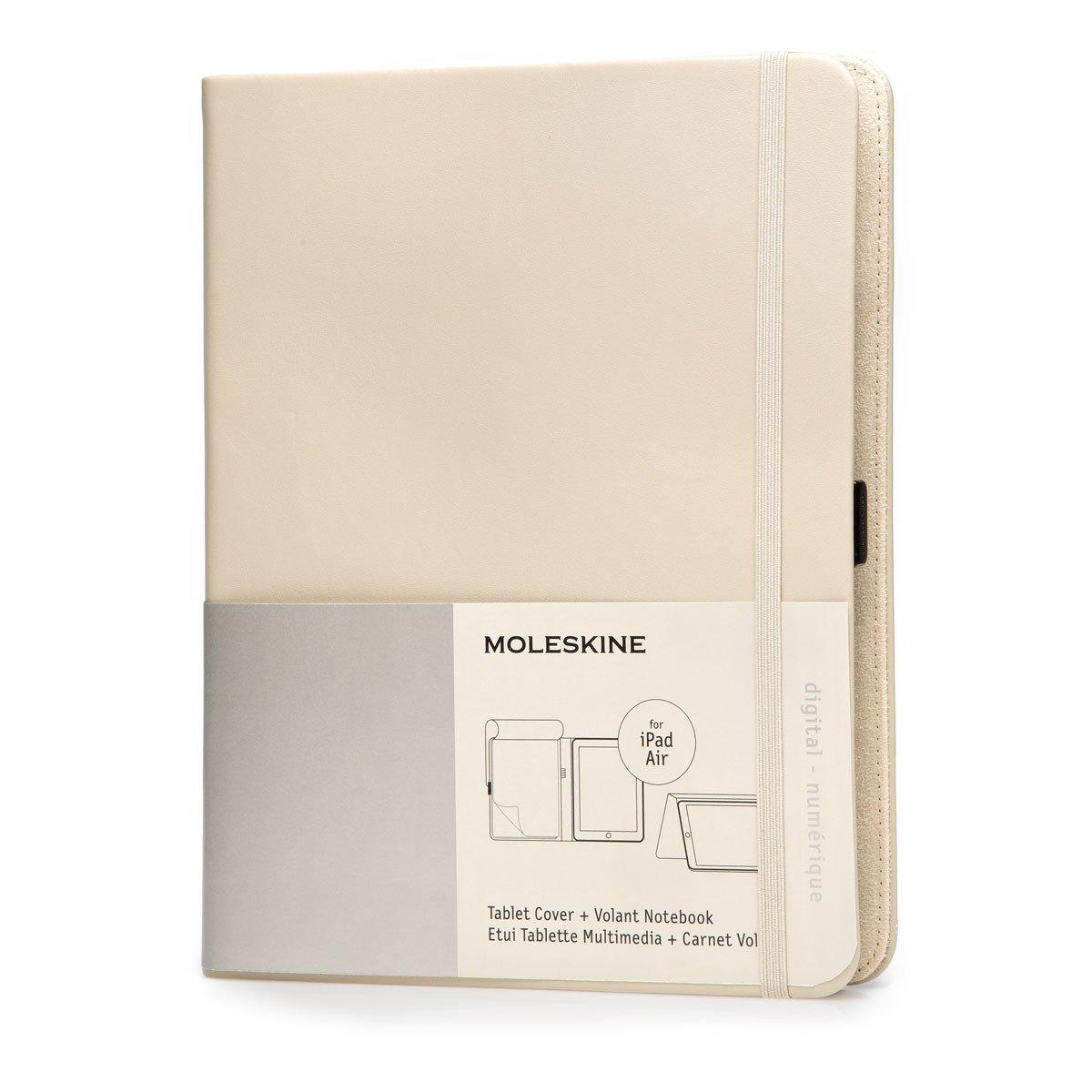 pretty nice a784c ba605 Moleskine Khaki Beige Ipad Air Cover with Volant Notebook Moleskine ...