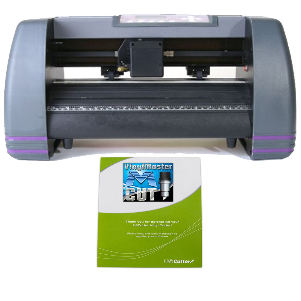 USCutter 14 inch MH Craft Vinyl Cutter Plotter With VinylMaster (Design and Cut) Software by MH Series