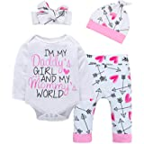 Baby Girl Clothes Valentines' Day Cute Letter...