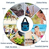 Ruipoo Collapsible Bucket Camping Water Storage Container...