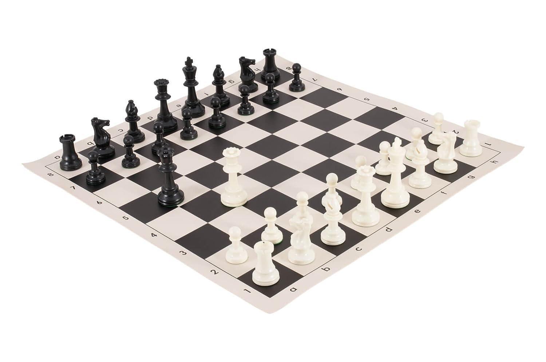 本物の トーナメントチェスの駒とチェスボードコンボ by – ソリッドプラスチック ブラック – ブラック by USチェスフェデレーション B0751SB6NG ブラック ブラック, タマナグン:ae7458d6 --- nicolasalvioli.com