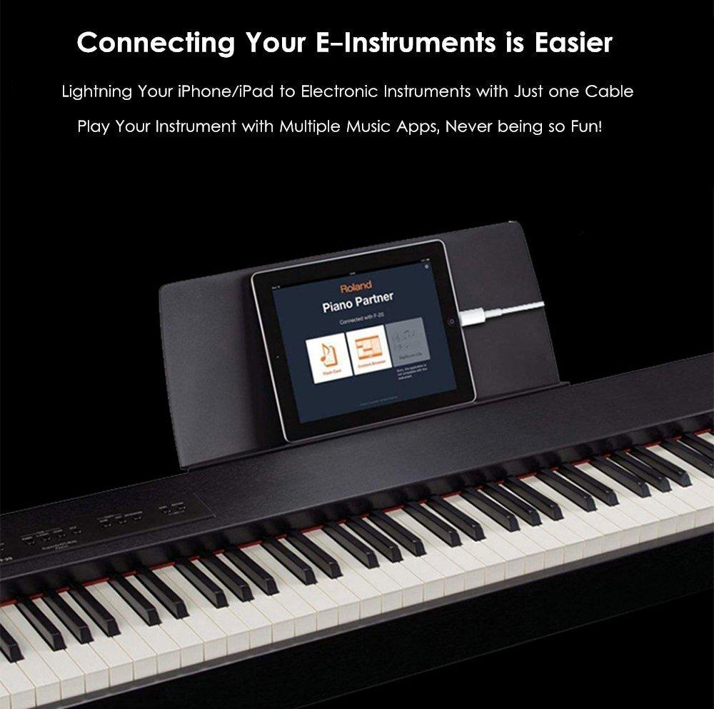 collegare pianoforte a GarageBand