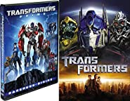 Prime Transformers Collection - Michael Bay's Transformers & Transformers: Darkness Rising Animated 2-DVD Autobots and Decepticons Bundle