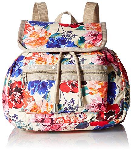 Lesportsac Essential Mini Voyager Drawstring Backpack - R...