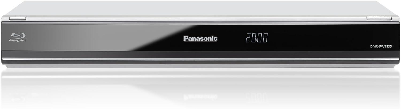 Panasonic DMR-PWT535 - Grabador de Blu-ray Full HD 1080p (2600 g), plata [importado]: Amazon.es: Electrónica