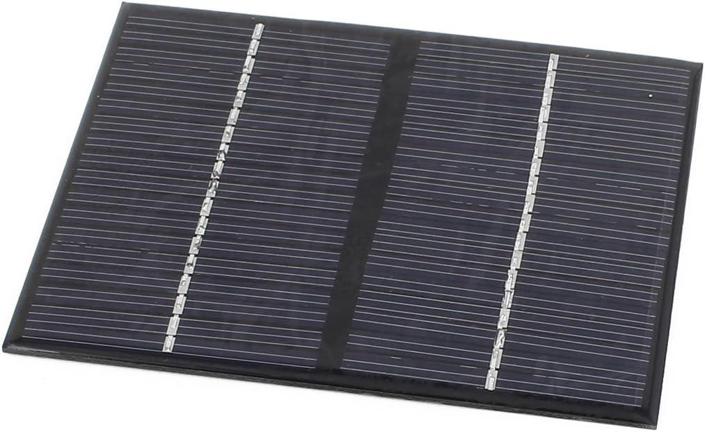 sourcing map 12V 1,5 W de Potencia Silicio policristalino DIY Panel Solar cochegador 115x90mm