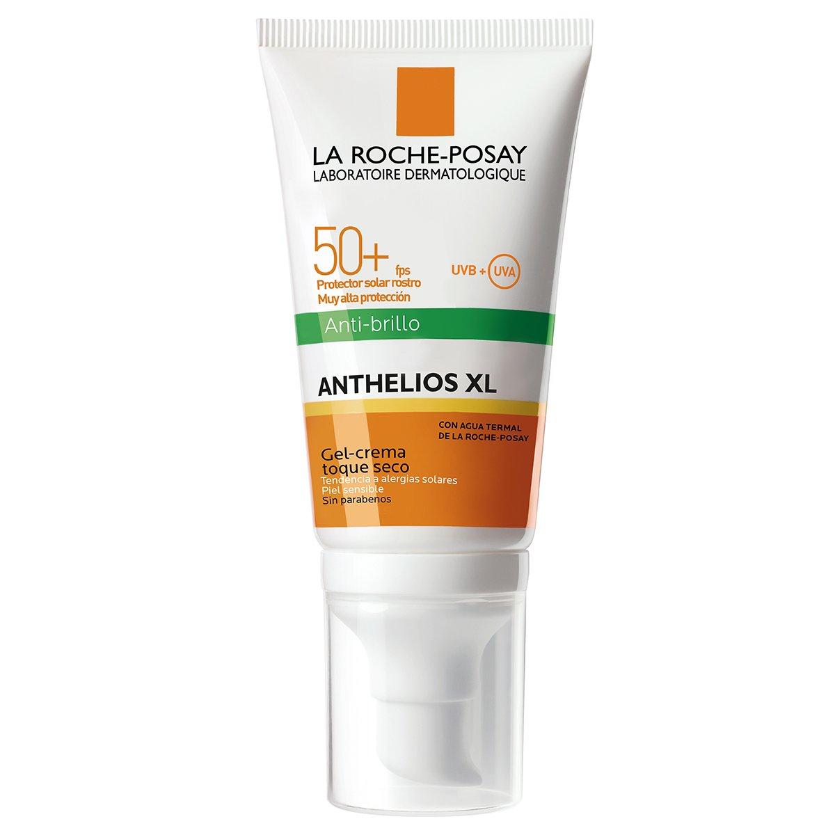 Anthelios XL Gel Crema Toque Seco con Perfume SPF50 50ML LA ROCHE POSAY 3337875546409