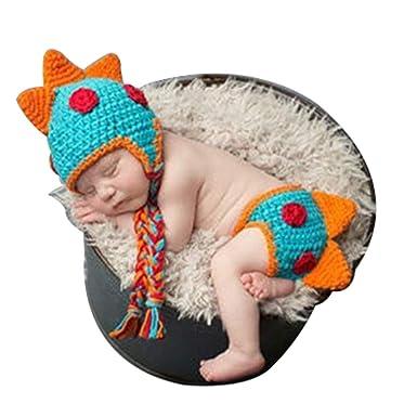 Amazon Fasuit Newborn Crochet Dinosaur Diaper Cover Hat Baby