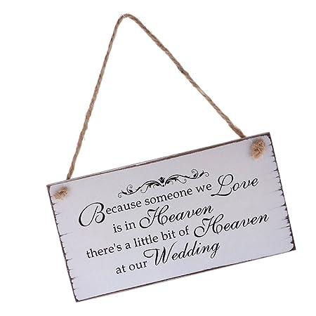 Frasi Regalo Matrimonio.Magideal Targhe Cartello Placca Appeso Di Legno Con Frase Regalo