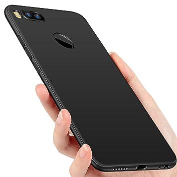 Funda Xiaomi Mi A1, Ubegood Carcasa Xiaomi Mi 5X Silicona Ultra Slim Anti-Rasguño Anti-Golpes Caso Xiaomi Mi A1 / 5X Protectora Bumper Case con ...