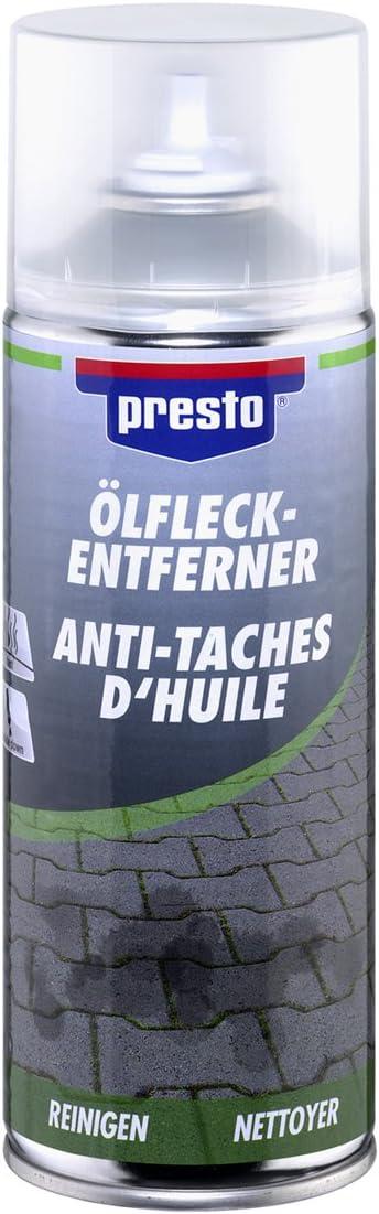 Presto 157172 Öl Fleck Entferner Spray 400 Ml Auto