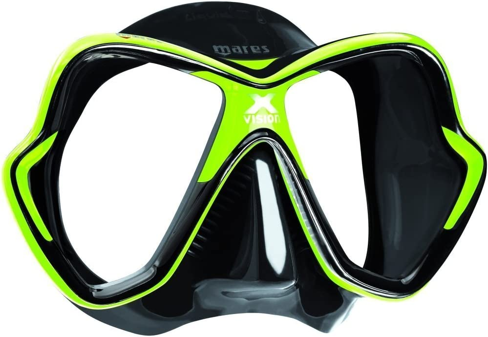 Taglia BX Maschera da Sub Unisex MARES X-Vision 14 Maschere ...