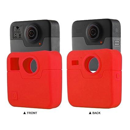 Amazon com : Sunfei Silicone Case for GoPro Fusion 360, Silicone