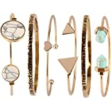 Beauty7 Kits de Bracelet Manchette Chaines Boheme Boho Bracelet Plage Ethnique Manuel