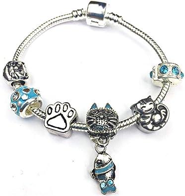 Girl Charm bead for Bracelet pendant gift present Charm