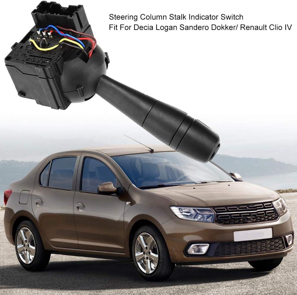 Steering Column Stalk Indicator Light Switch For Dacia Logan Sandero 8201167988