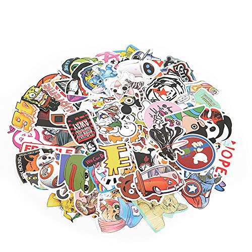 Repeat Graffiti Stickers | Cartoon Stickers | Many Comic Characters Theme Stickers | Skateboard Stickers, Laptop Stickers ()